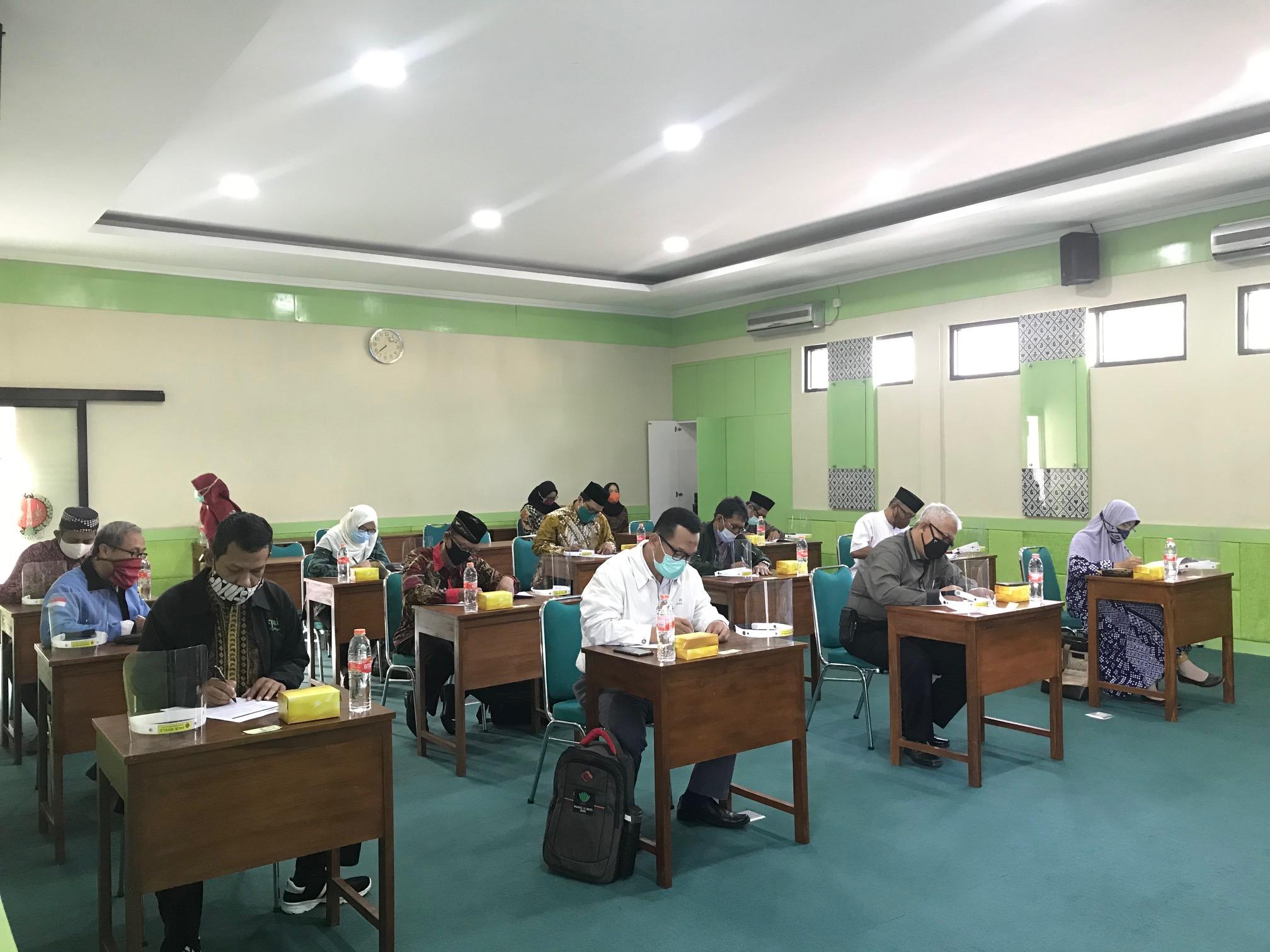 12 Calon Pimpinan Baznas Kota Yogyakarta Jalani Seleksi Tes Psikologi