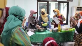 Cooking Class : Praktek Memasak Menu Olahan Ikan dan Sayuran
