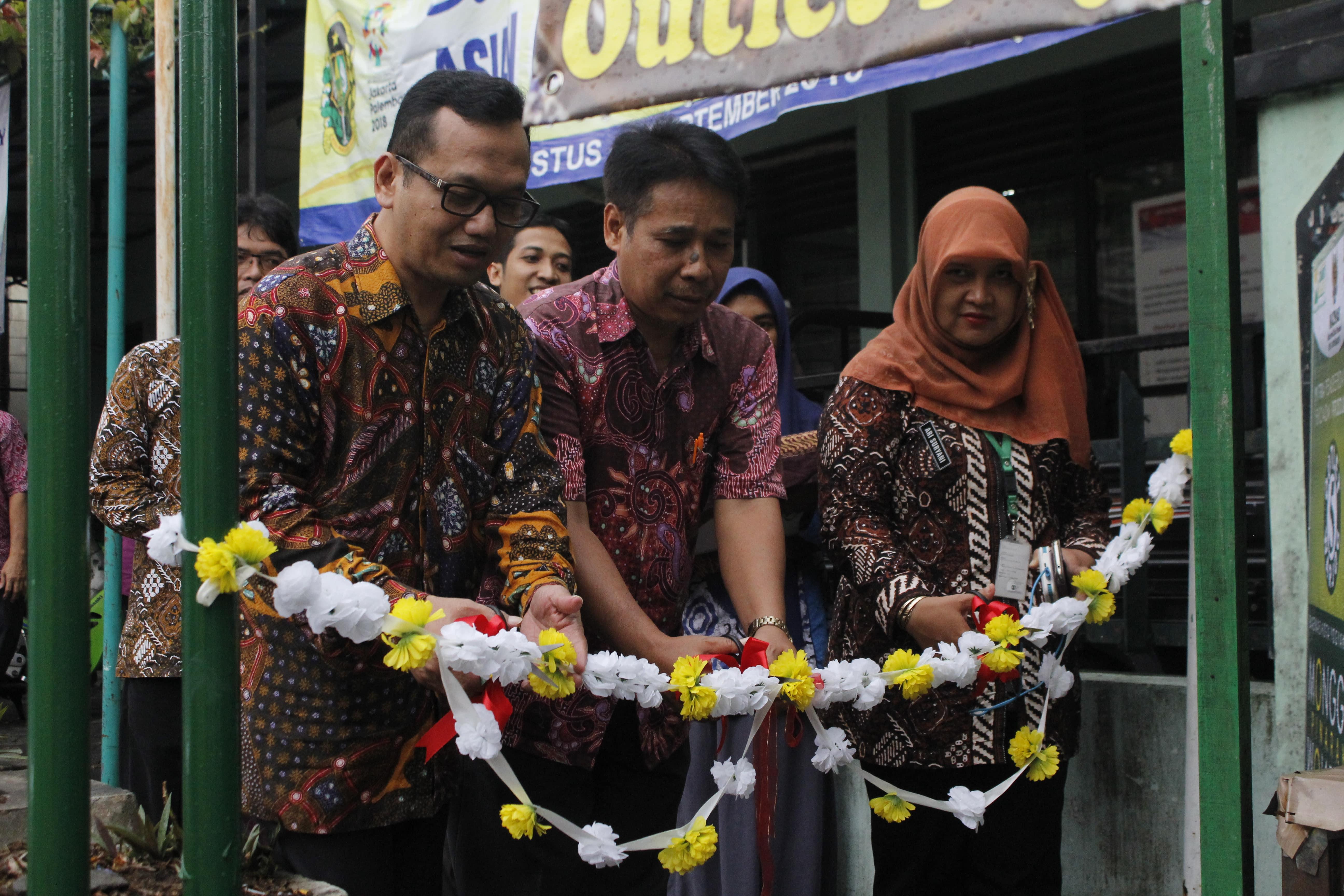 Peresmian WARJOG (Warung Jogja) Program Pemberdayaan Ekonomi Produktif BAZNAS Kota Yogyakarta tahun 2018